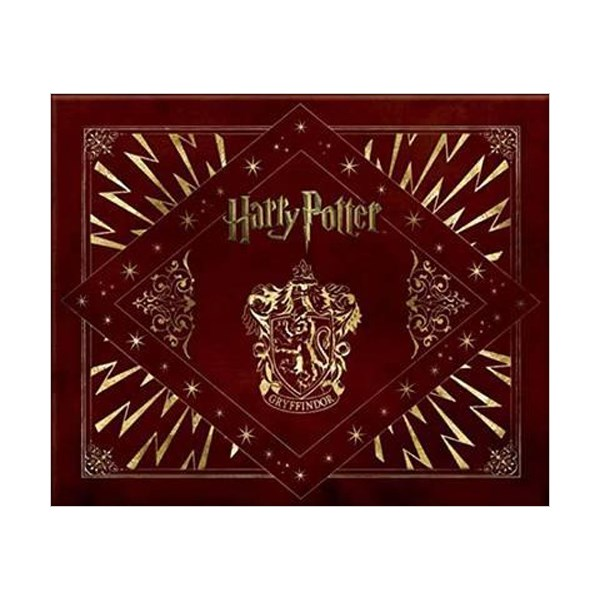 Harry Potter Gryffindor Deluxe Stationery Set (Hardcover)